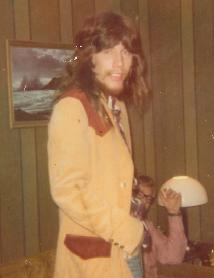 Paul Allen Hayes in Alabama, early 1970s.