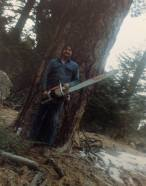Mom's boyfriend in Big Bear Lake, mid-80s.