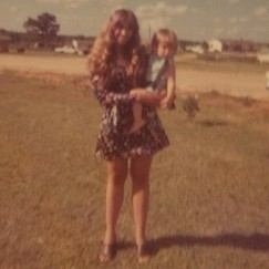 With Mom in Cottonwood, Alabama.
